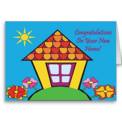 New Home Congratulations Clip Art