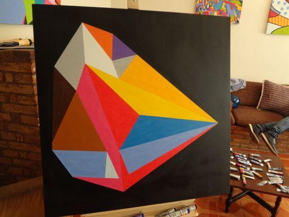 cubismo - diamante