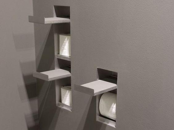 Toilet Roll Holder SESAMO Sesamo Collection By Antonio