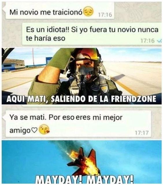 Memes sobre la friendzone