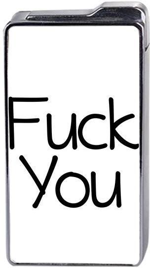 Fuck You - Fuck - Kendin Tasarla - Çakmak