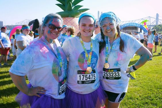 Color run: