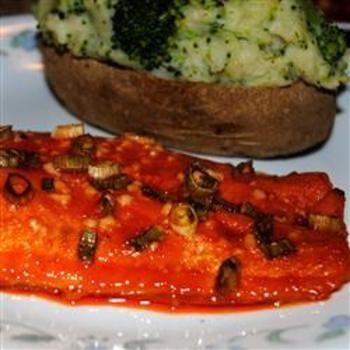 Yin-Yang Salmon