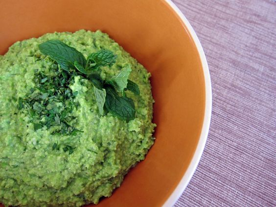 Go green with this edamame hummus.