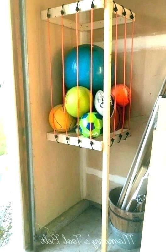 Garage Ball Storage Ball Rack For Garage Garage Storage Ball