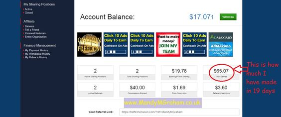THIS IS MY EARNINGS FROM only 19 days! I am looking for people who would like to earn money and have 10 minutes to spare a day! My work from home opportunity is FREE to join! Start earning immediately ♥ Get paid daily ♥ Website and Facebook support groups to help you! No fees, no targets, you just work your business when you want to and around your current commitments and all from your phone or laptop!