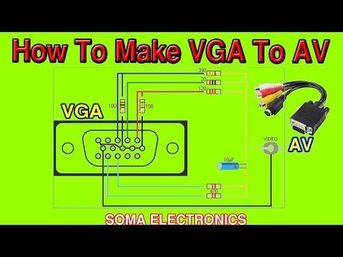 Pin on Hodiny Vga To Rca Composite Wiring Diagram on