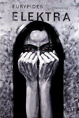 Electra, Euripides, Polish Theater Poster