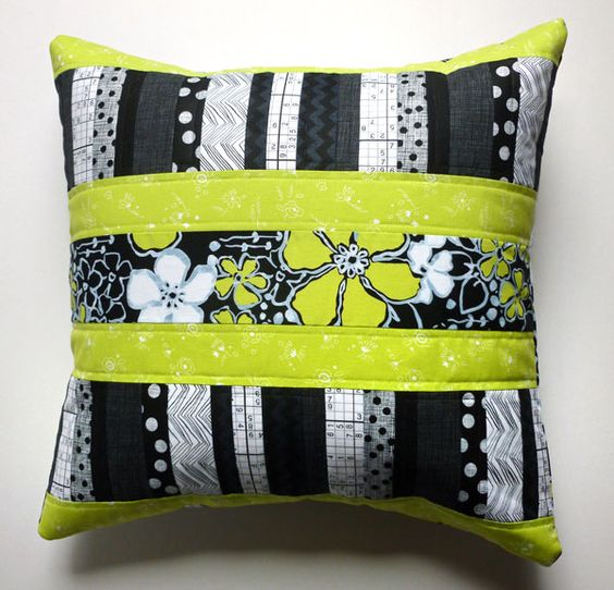 Pillow tutorial on the blog today! #sewing #fabric