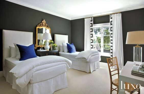 Best Guest Rooms Black And White And Bedroom Interior Design 400 x 300
