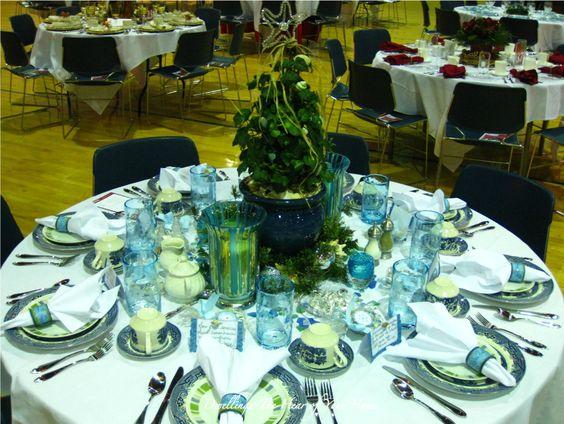 Ménage-Le coeur de votre maison: Thé de Noël tablescape FINALE