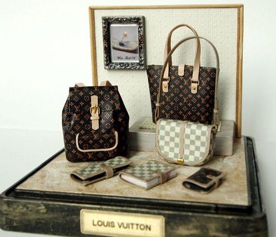 Miniature Louis Vuitton Purses