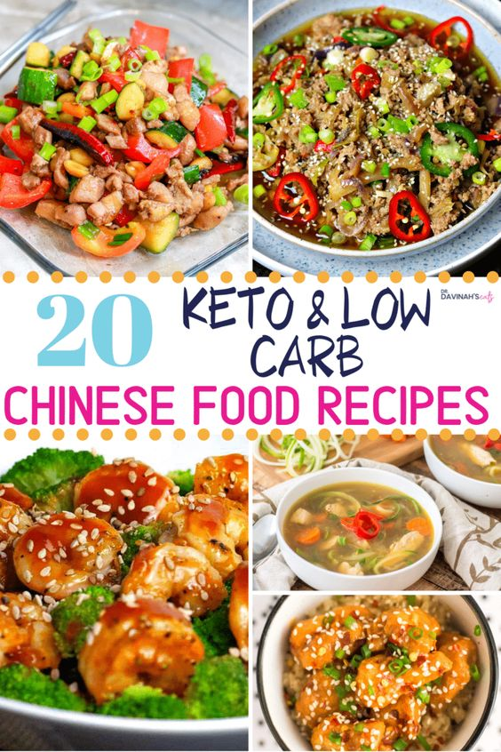 Copycat Low Carb & Keto Chinese Food Recipes