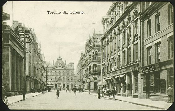 Toronto Street, Toronto 1910