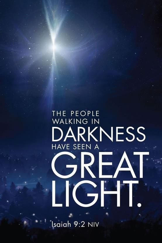 Image result for darkness and christmas bible