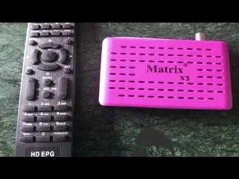 احدث ملف قنوات رسيفر ماتركس X3 انجليزي Hd Remote Control Tv Remote Youtube