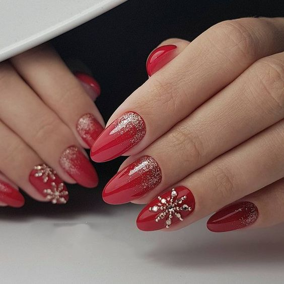 59 Christmas Nail Art Ideas For Early 2020 Christmas Nails Easy Christmas Nail Designs Christmas Nails