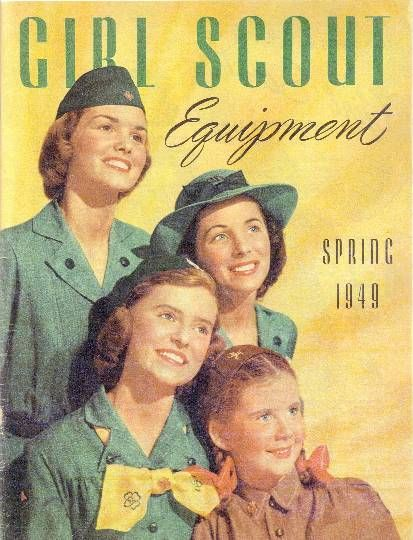 Girl Scout catalog - spring 1949