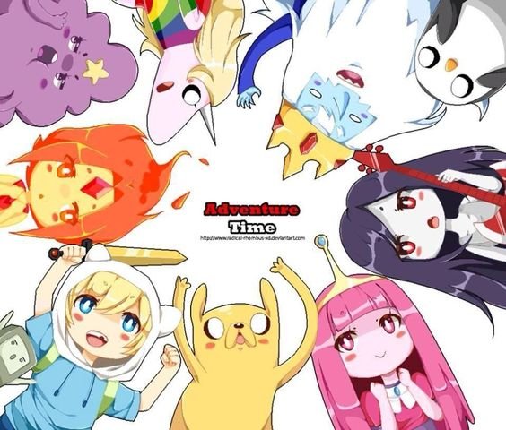Explore Adventure Time Board Chibi And More