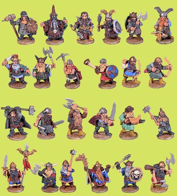 Mega Miniatures - Fantasy Dwarves 24 pack - £15 (via Hurlbat Games)