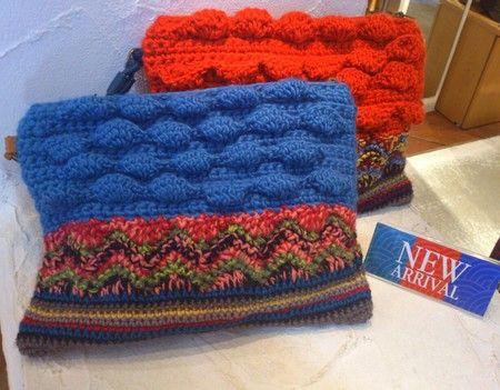 cooco crochet clutch bag