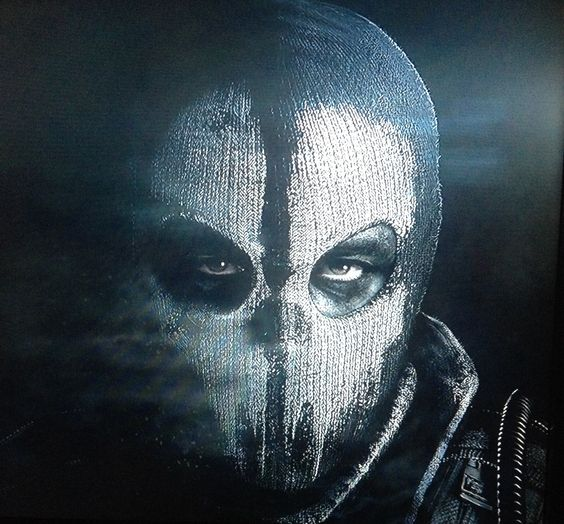 Ghost mask | Soldiers | Pinterest | Masking and Weapons