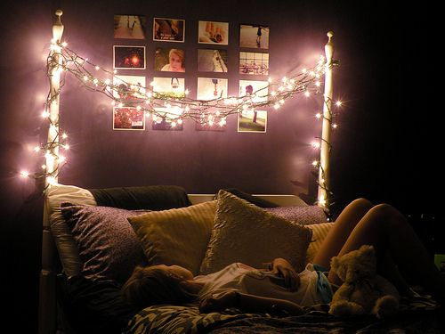 Tumblr Rooms With Lights | Acid Dreams + Sugar Highs: Fairy Light Bedroom  Decoration Inspiration | Cute Bedroom | Pinterest | Fairy, Bedrooms And  Decoration