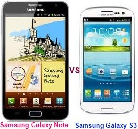 Samsung Galaxy Note vs Samsung Galaxy S3 – Find Out the Better Galaxy Device