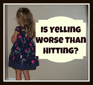 New Research Shows that Yelling Might be Worse Than Hitting.  Some thoughts on how to interact in a more positive way with your kids...