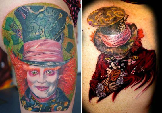 Piękne Czy Creepy Tatuaże Z Motywem Alicji W Krainie Czarów