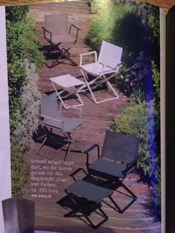 Regiestühle für Garten: me.emu.it