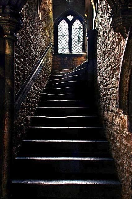 Medieval Staircase ~ Brown's Hospital, Stamford ~ Browne's Hospital is a medieval almshouse in Stamford, Lincolnshire, England. It was founded in 1485 by wealthy wool merchant William Browne to provide a home and a house of prayer for twelve poor men and two poor women.