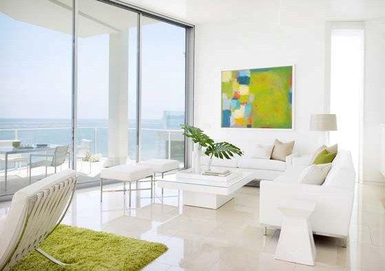 by LA-based designer Jamie Bush - fantastic white and green