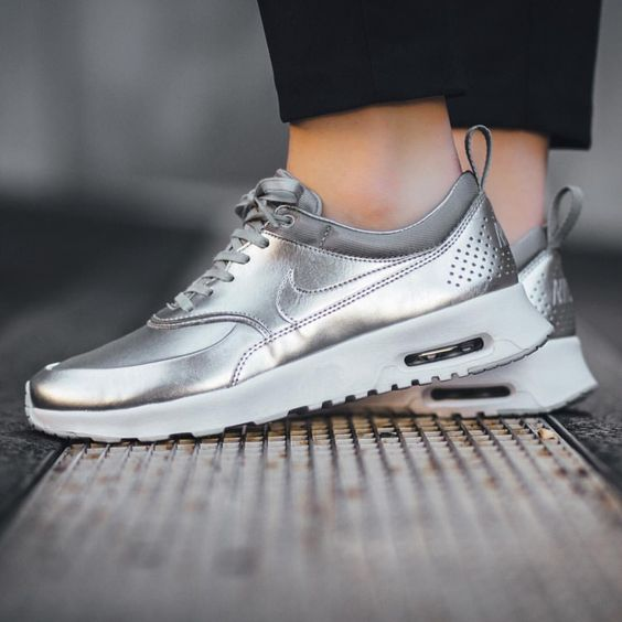Nike Air Max Silber Metallic