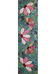 Applique Table Topper Downloads - Blooming Table Runner Pattern from Annie's Crafts