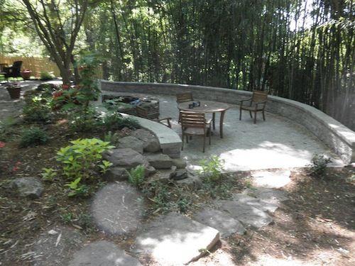 backyard living backyard patio and more retaining wall drainage