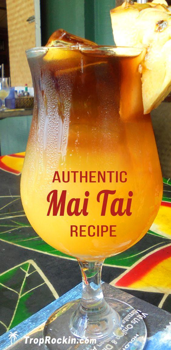 Authentic Mai Tai Cocktail Recipe