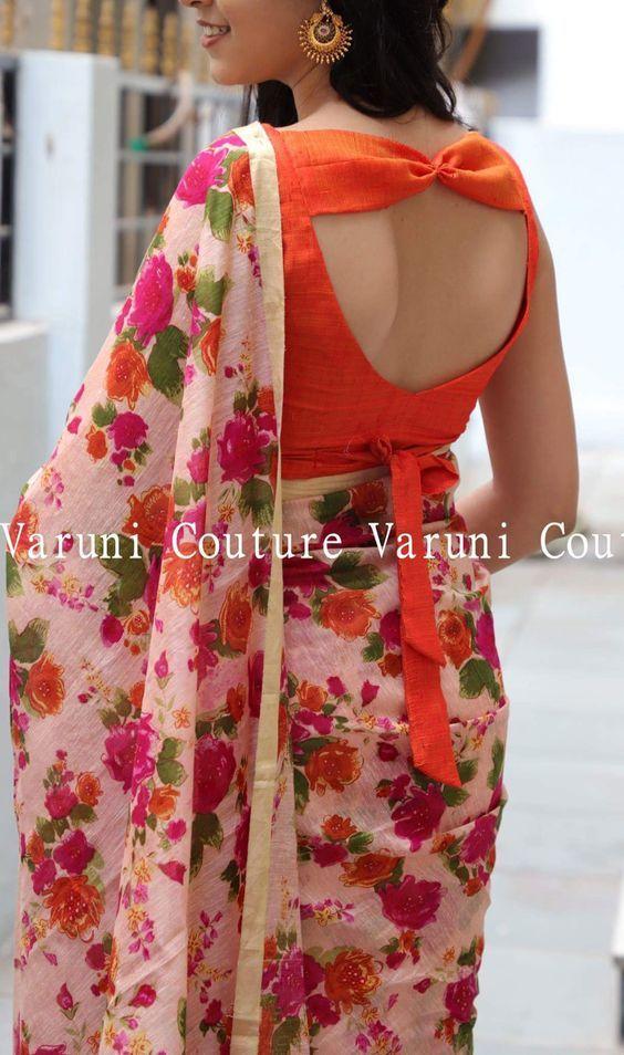 Sari Bollywood Party Wear Designer Gorgeous Look Silk Fabric Saree NAVYA 57