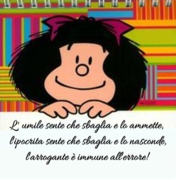 Saggia Mafalda L Arrogante Continua Imperterrito Citazioni