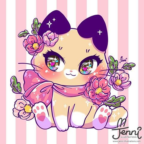 Spring Latte Kitty Been Awhile Since I Drew Some Pretty Eyes Originalcha Cute Animal Drawings Kawaii Cute Kawaii Drawings Cute Cat Drawing