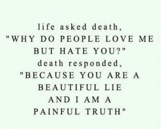 The beautiful lie & painful truth