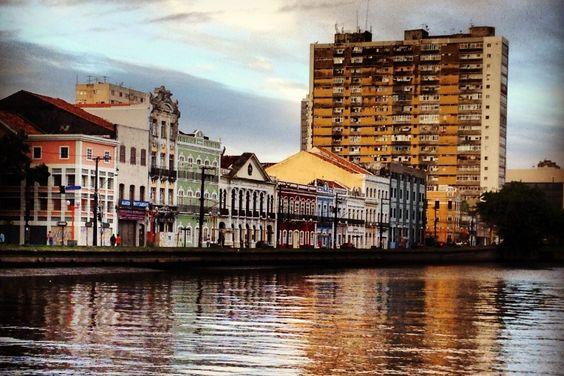 Rio Capibaribe, Recife, Pernambuco, Brasil