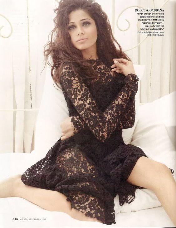 Freida Pinto in Dolce & Gabbana