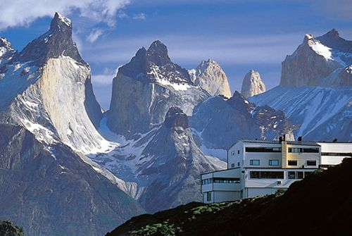 awesome // Hotel Salto Chico in Torres del Paine, Chile.