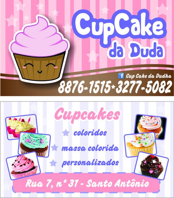 Cartão de Visita - Cup Cake