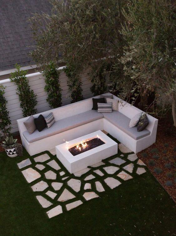 25 Kleine Hinterhof Landschaftsgestaltung Back Hinterhoflandschaftsgestaltun Diy Backyard Landscaping Backyard Ideas For Small Yards Backyard Seating