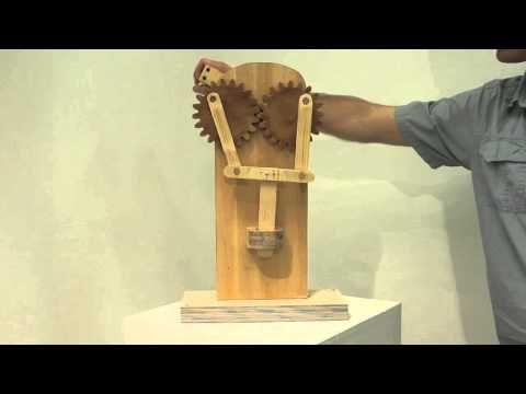 Kinetic Art - Mechanisms v2 - YouTube