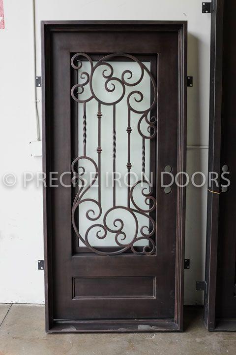 Iron Doors Con Imagenes Puertas De Acero Puertas De Hierro