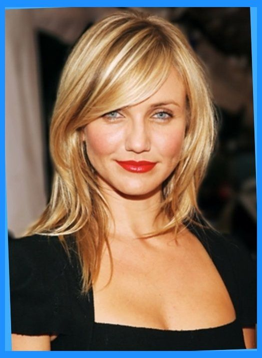 Image result for mid length haircut for round face 2016