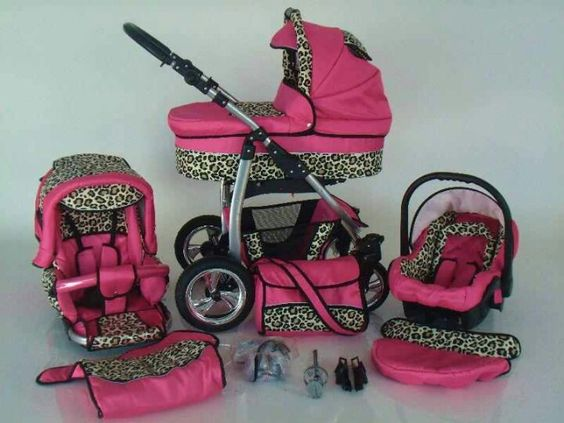 Yes pink and cheetah print baby girl gear